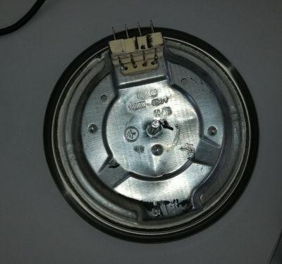 Чугунена нагревателна плоча 4 извода 1000W, 250V