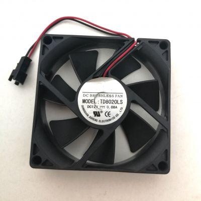 Вентилатор TDS8020LS - DC12V , 08 A - 80*80*20MM